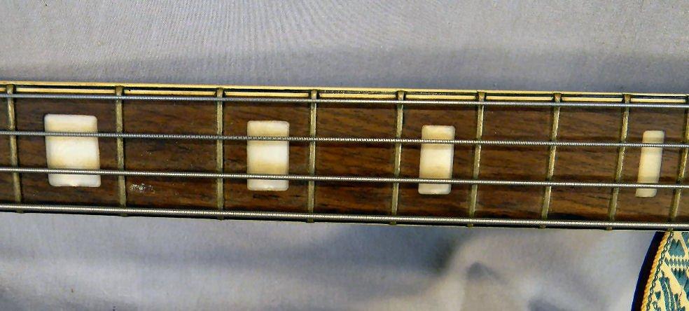 271B: Estate Royal Artist Bruno electric bass guitar, s - 4