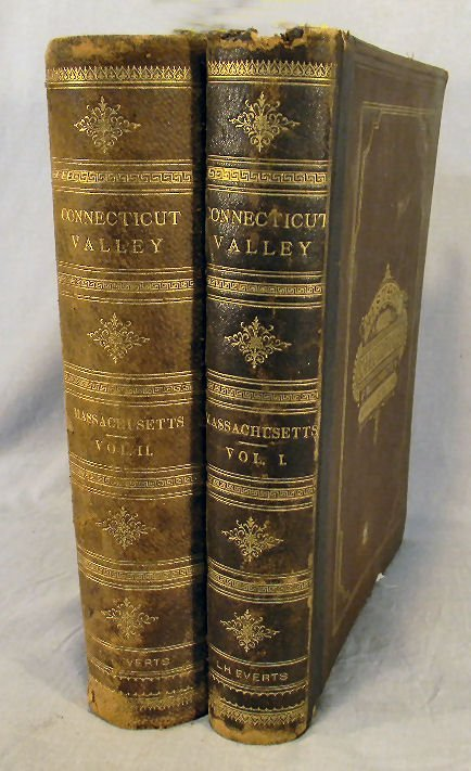 "21Y: 2 volume set of the ""History of the Connecticut Va"