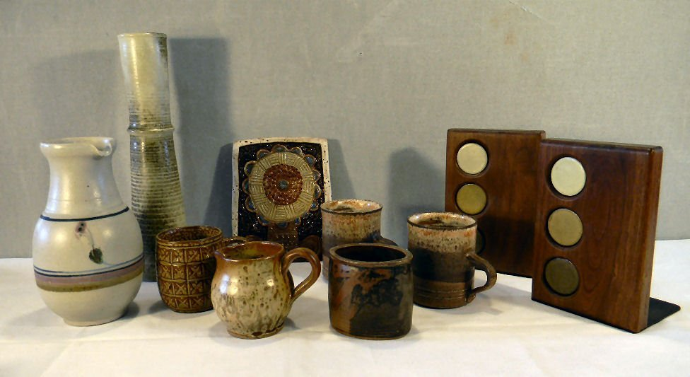 Lot of misc. modern styled art pottery including Arabia