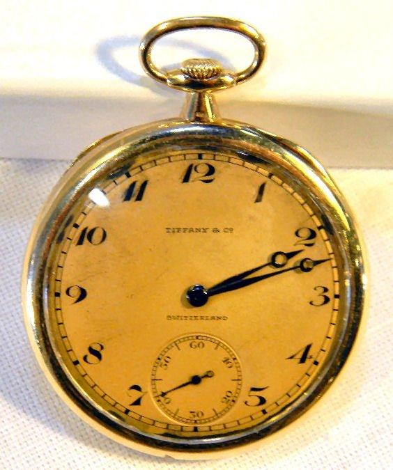 18K yellow gold Patek Philippe & Co. pocket watch made