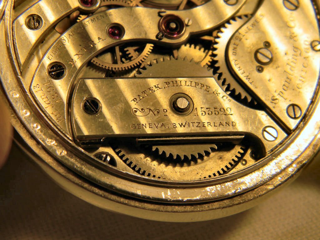Patek Philippe pocket watch with Fahey sterling silver  - 7