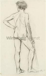 HANS PURRMANN Speyer 1880 - 1966 Basel: Stehender
