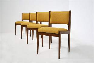 Gianfranco Frattini Chairs for Pierluigi Ghianda 1960s