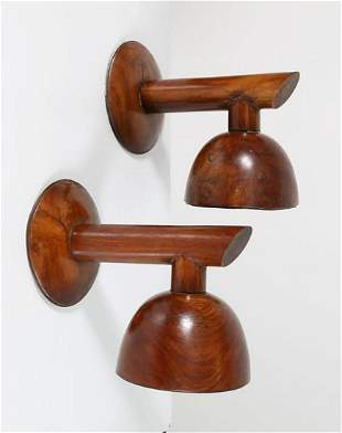 Pair of Wall Lamps by Carlo Scarpa For Dona' House