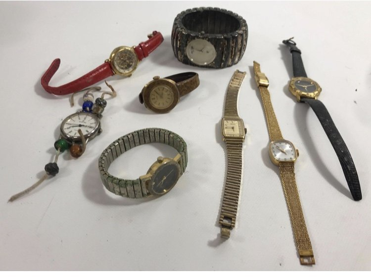 LOT ASSORTED WRIST WATCHES