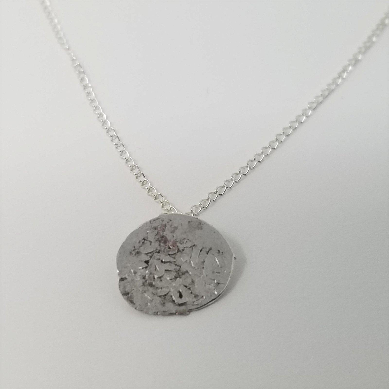 Ottoman Silver Coin - Necklace