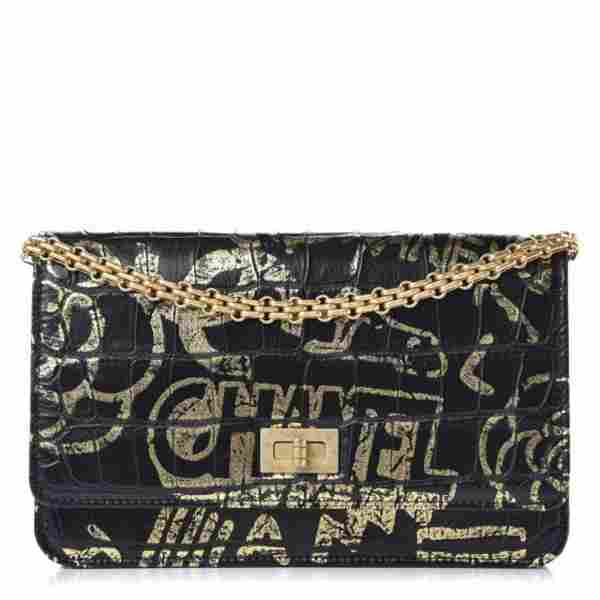 Chanel Calfskin Wallet On A Chain