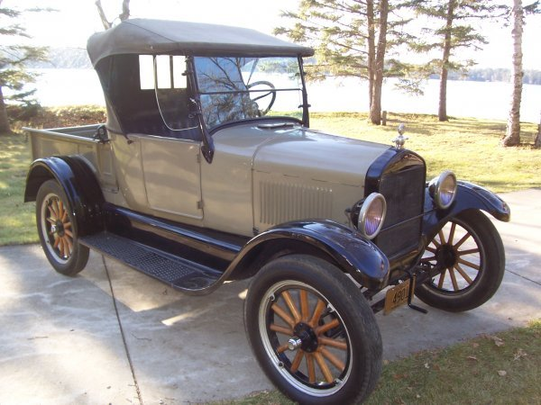 7S: 1926 FORD Model T Roadster Pickup