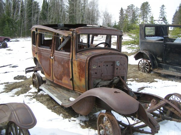 12S: 1928 Hupmobile Hupmobile for Rod or Restore
