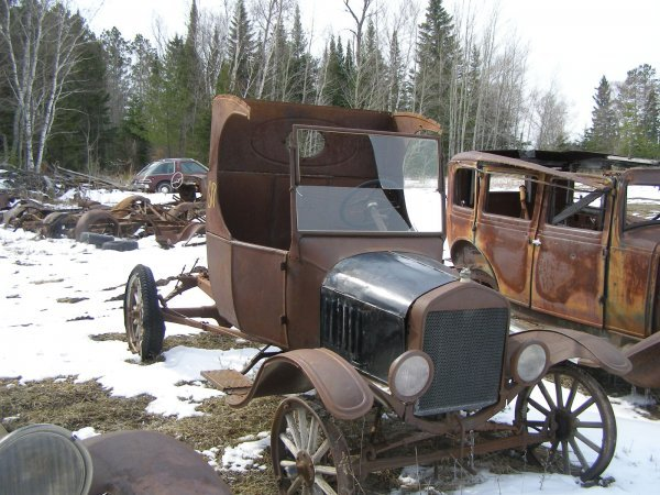 17S: 1927 FORD Model T C-Cab for Rod or Restore