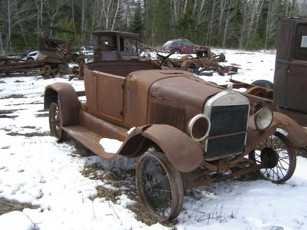18S: 1926 FORD Model T Roadster For Rod or Restore