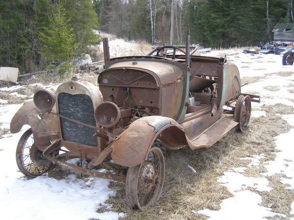 20S: 1920's Ford AR Sport Coupe for Rod or Restore
