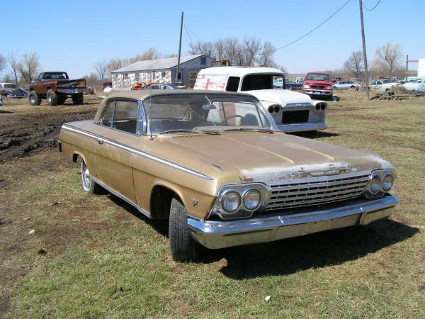 6A: 1962 Chevrolet Impala 2dr Hard Top