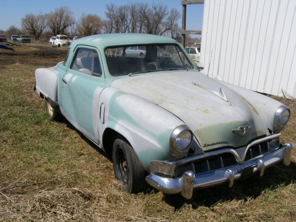 7A: 1952 Studebaker Starlite Coupe-Champion 2dr