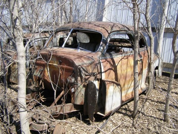 21A: 1947? Chevrolet 2dr Coupe