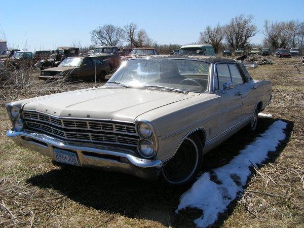41A: 1967 Ford Galaxie 500 4dr Hard Top
