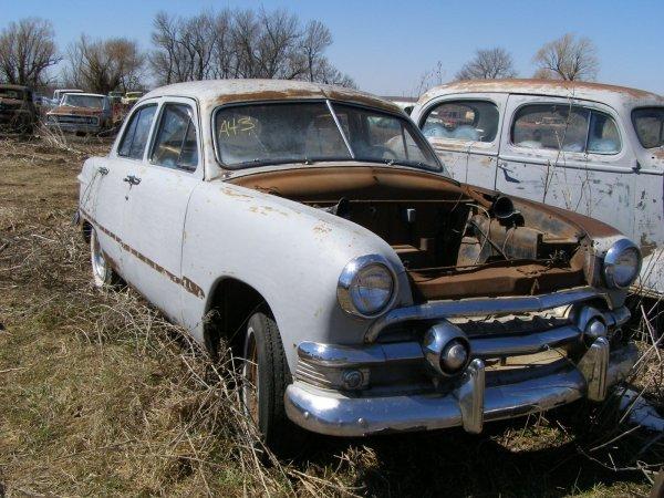43A: 1950 Ford Custom 4dr