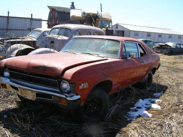 45A: 1972 Chevrolet Nova 2dr Hard Top