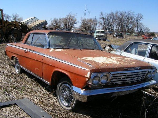 47A: 1962 Chevrolet Impala 2dr Hard Top
