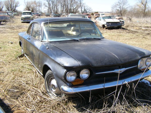 48A: 1961 Chevrolet Corvair 2dr Hard Top