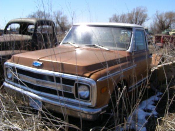 57A: 1970 Chevrolet C-10 pickup