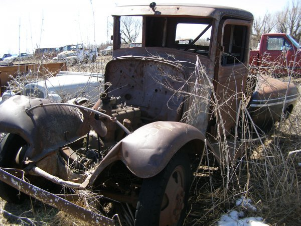 59A: Ford Model AA? Truck