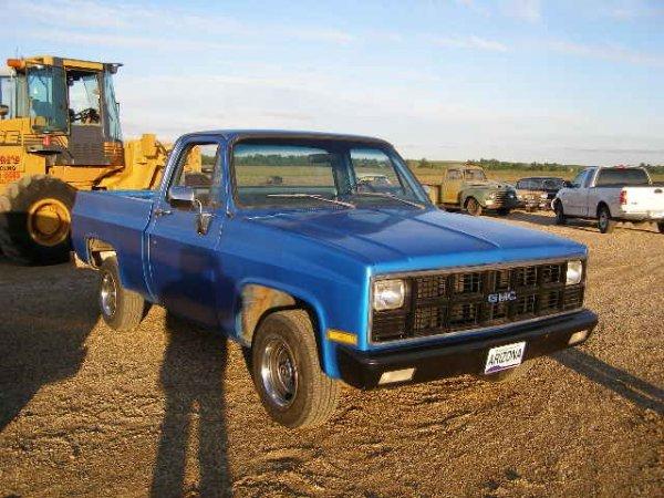 2L: 1981 GMC 1/2 ton 4x4 Pickup