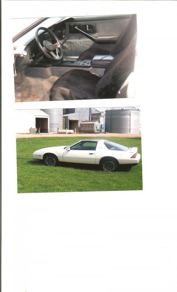 3L: 1985 Chevrolet Camaro Berlinetta Coupe