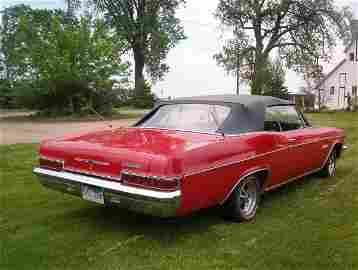 7L: 1966 Chevrolet Impala  SS Convertible