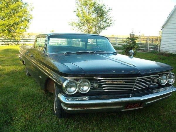 8L: 1960 Pontiac Bonnevile 4dr Hard Top