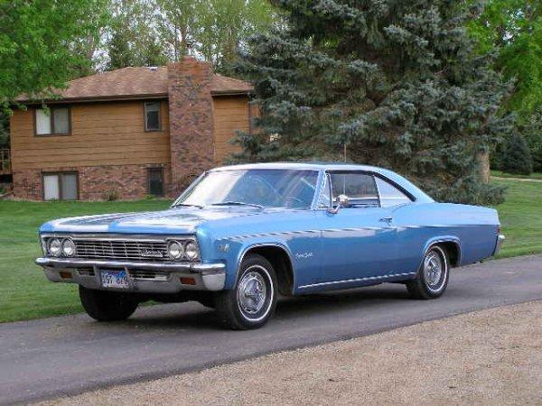11L: 1966 Chevrolet Impala SS 2dr HT