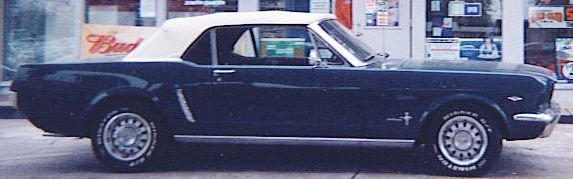 17L: 1965 FORD Mustang Convertible