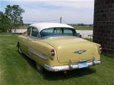 38L: 1953 CHEVROLET 4DR POST