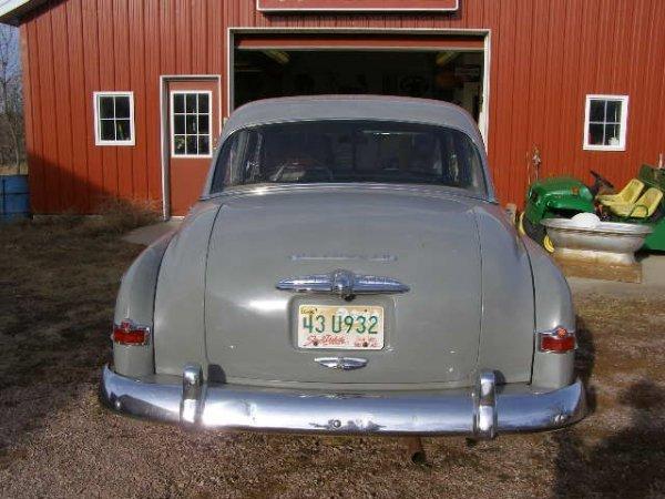 26H: 1951 Plymouth Cranbrook 4dr Sedan - 4
