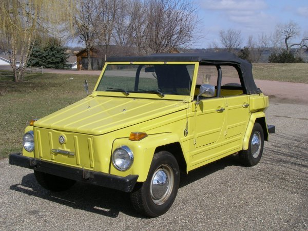 28H: 1974 VW Thing Convertible