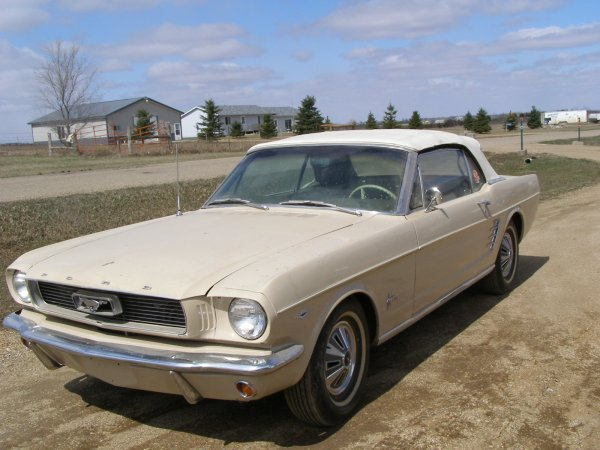 35H: 1966 Ford Mustang Convertible