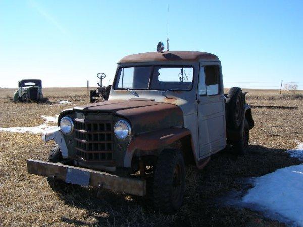 1V: 1951 Willys Pickup
