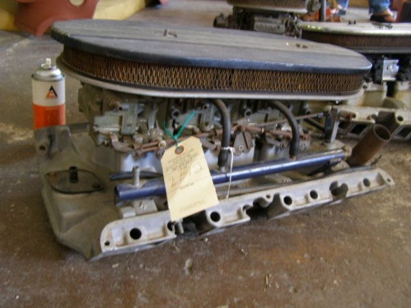 12L: Ford Tri-Power for 427 or FE block