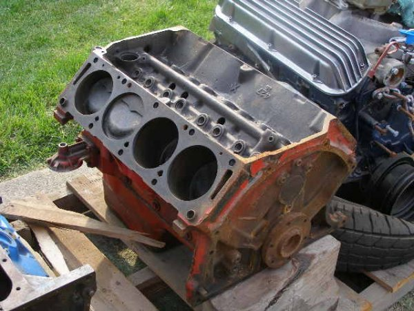 22L: Ford 427 Lemans 1966 Block  Cast#:  C5AE6015E