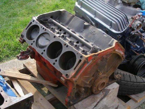 22L: Ford 427 Lemans 1966 Block  Cast#:  C5AE6015E