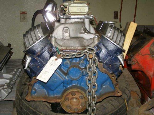 """23L:  Ford Hi Performance """"K"""" motor  Cast#:  C5AE6015E"""