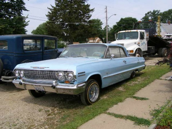 24A: 1963 Chevrolet Impala SS- Vintage Low Rider 4Speed