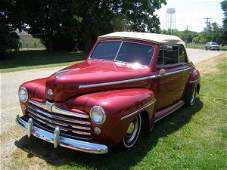 124A: 1947 Ford Super Deluxe Converible