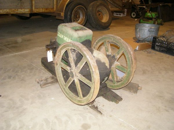 55H:  Rare John Deere 3hp Stationary Gas Engine