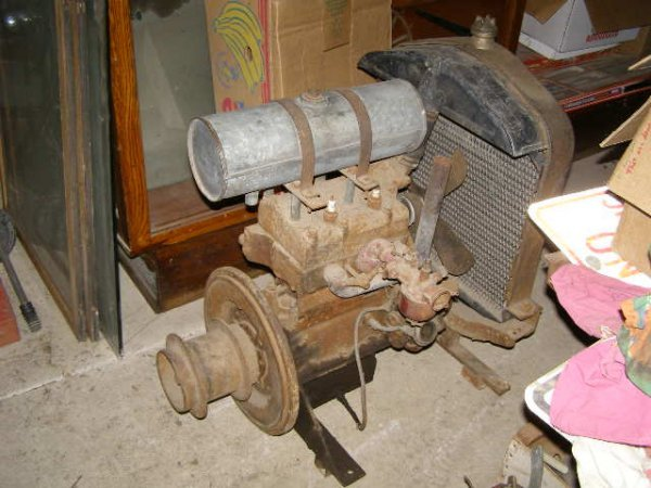 56H: Ford Model T split Engine