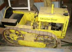 57H: 1/4 Scale Homemade Caterpiller Tractor