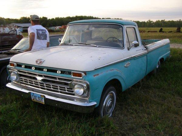 3V: 1966 Ford 1/2 ton F-100 pickup