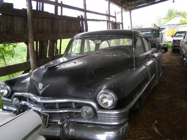 4V: 1950 Cadillac 4dr Post