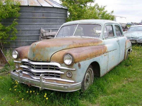 7V: 1949 Dodge 4dr Sedan