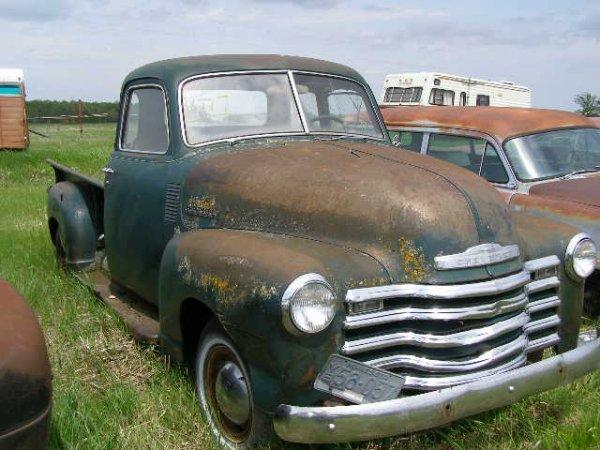 17V: 1951 Chevrolet Stepside 1/2 tn pickup